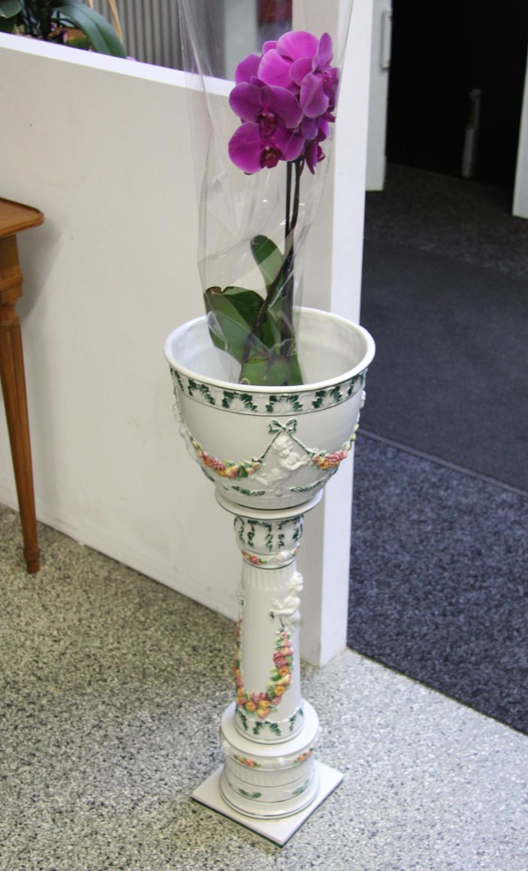 a03a. Keramik Säule.