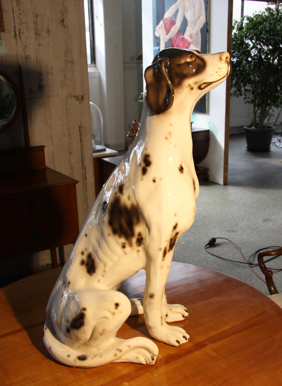 K39c,Hundefigur in Keramik.