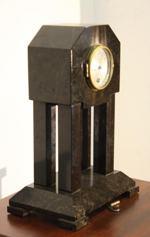 a16.Art Deko Kaminuhr.