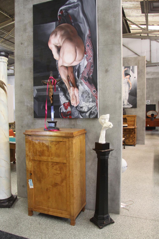 a02a. Künstlerskulptur.