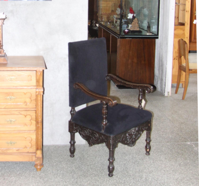 sm20b. Renaisance-Stil Sessel.